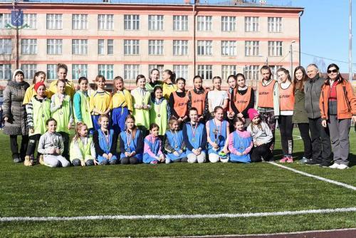 Поздравляем юных футболистов!