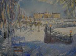 Дворец Конгрессов. Автор: В.А. Петров-Гринев