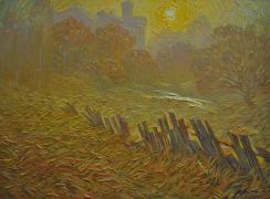 Старые огороды. Автор: В.М. Левченко