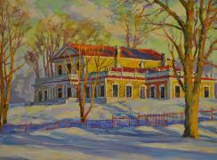 Дворец Петра Первого в Стрельне. Автор: В.И. Слепухин