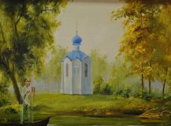 Св. Николая часовенка. Автор: В.П. Морозов