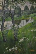 Река Стрелька. Автор: С.М. Сильченко