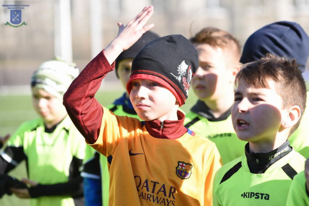 Поздравления юных футболистов вижу проект