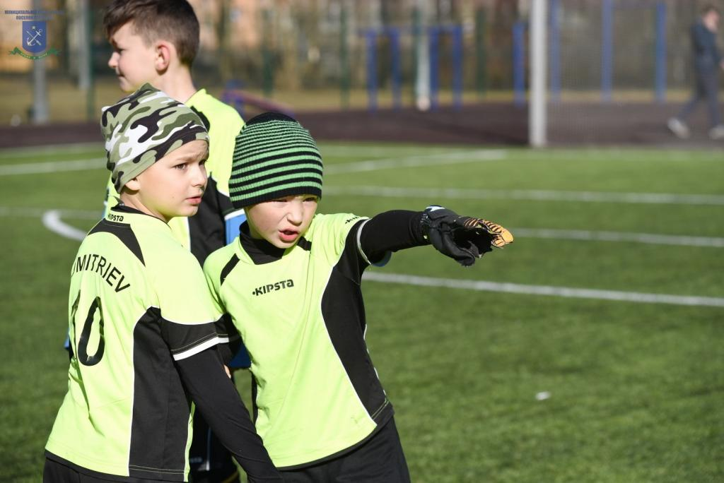 Поздравления юных футболистов актрисы
